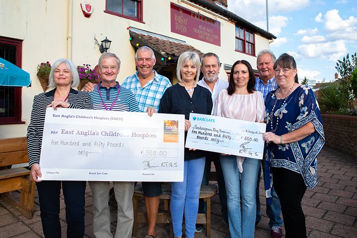 The Railway Taverners Golf Society Charity Donation 2018
